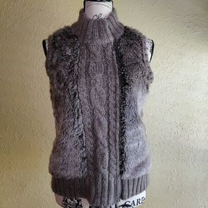 Beautiful cable knit sweater vest